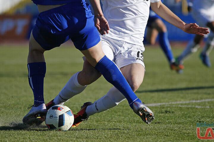 Момент от футболен мач