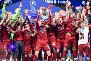 Радостта на Ливърпул след спечелването на Шампионската лига