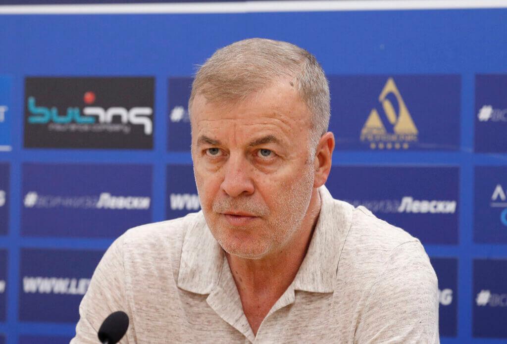 Наско Сираков след избирането на новия НС на Левски