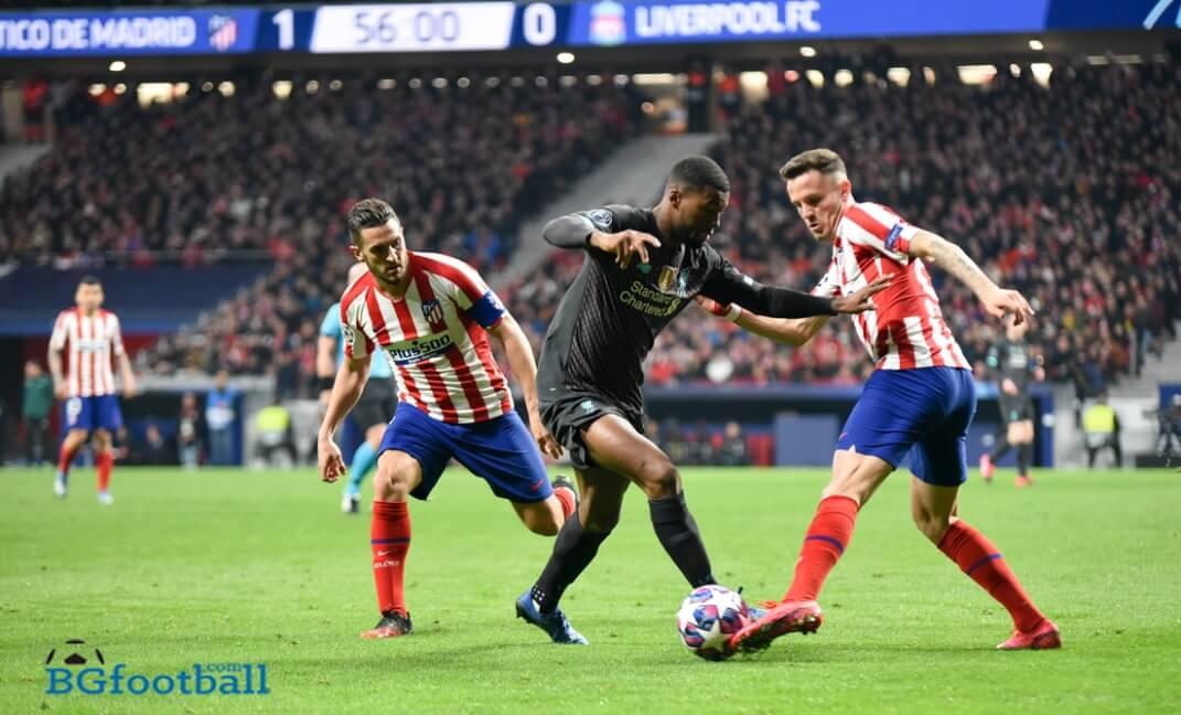Коке и Саул Атлетико Мадрид