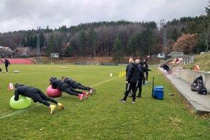 Тренировка на ЦСКА