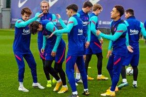 Барселона тренира