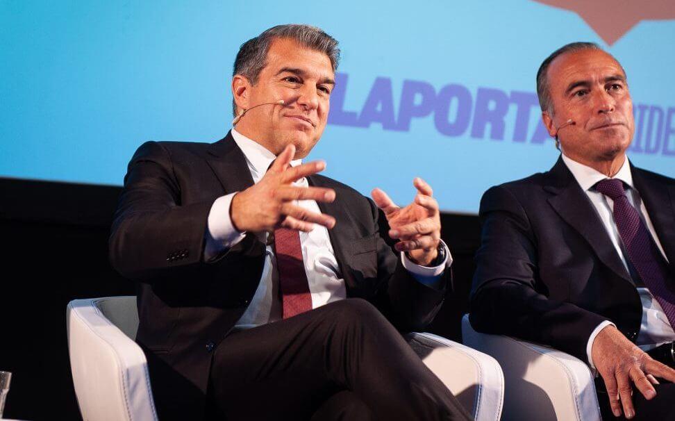 Жоан Лапорта Барселона