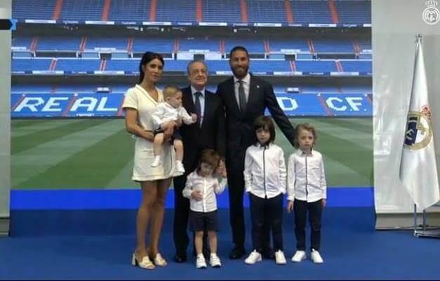 Рамос Перес Реал Мадрид