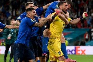 Италия Донарума Евро'2020