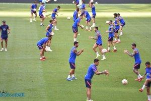Атлетико Мадрид тренира