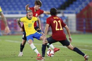Бразилия Испания Токио2020